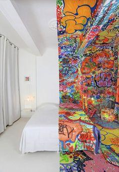 Sorprendente habitación de hotel :)