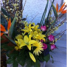 Party flowers.