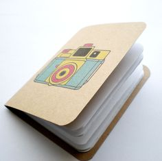 Lomo Mini Kraft Notebook.
