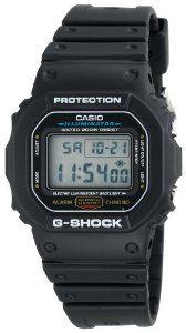#7: Casio Men's DW5600E-1V G-Shock Classic Digital Watch