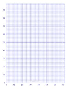 A Graph Paper Template Pdf Mm Squares  Mm  Pencil