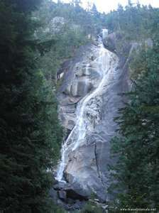 Shannon Falls near Whistler Canada - one of my favorite places - ever!