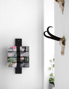 DIY magazine holder of Pringle cans // Katarina Natalie blog