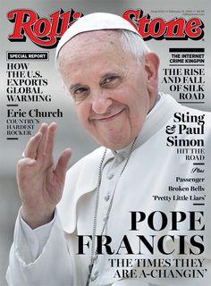 El Papa, portada de Rolling Stone: Los tiempos están cambiando