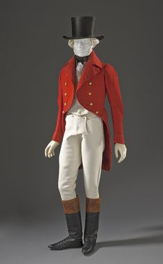 Hunting ensemble ca. 1825-1830 via The Los Angeles County Museum of Art