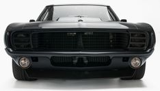 This Blacked-Out 1969 Chevrolet Camaro Is a Serious Force of Nature. Paging Darth Vader.