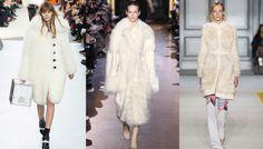 Tendances fourrures blanches, défilés Louis Vuitton, Stella McCartney et Giambattista Valli