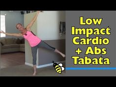 Low Impact (Quiet) Cardio + Abs at-Home Tabata Workout - High Intensity Training without Jumping The ultimate full body workout - cardio without jumping and core strength exercises - in a high intensity workout!
