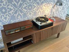 Vintage setup with Quad 33/ FM3 and Thorens TD124