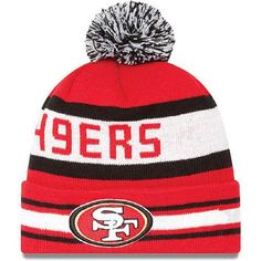 11f3777f4 2017 Winter NFL Fashion Beanie Sports Fans Knit hat Nfl 49ers