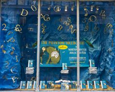 Phantom Tollbooth window display for Books of Wonder, 2011 Book Projects, Projects To Try, Project Ideas, Library Displays, Window Displays, The Phantom Tollbooth, Books To Buy, Teaching English, Language Arts