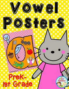 Vowel Posters!
