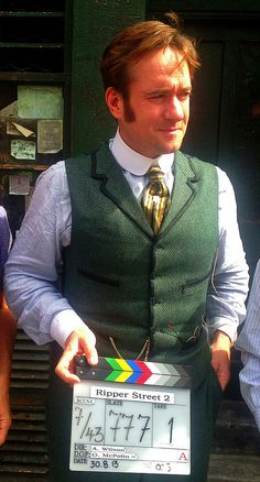 Matthew Macfadyen ;Thats a Rap on the Set of Ripper Street 2 | Flickr - Photo Sharing!