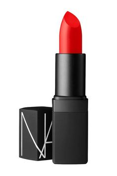 The Red Lipsticks Makeup Artists Actually Use #refinery29 http://www.refinery29.com/favorite-red-lipsticks#slide-4 Puckey insists there's almost nothing better than the vivid, semi-matte finish of NARS' iconic orange-red tube....