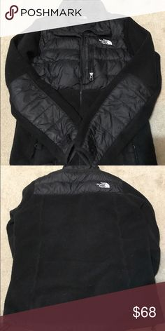 The North Face puffer/fleece jacket Sz S In great used condition. Classic style, warm and cosy. Zippers work, no tears, ready to wear. The North Face Jackets & Coats Puffers