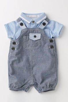 Buy Chambray Dungarees (0-18mths) online today at Next: United States of America