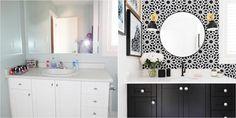 Antes y después: de baño cualquiera a baño glam