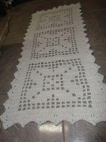 Marilda Croche: Passadeira em Croche