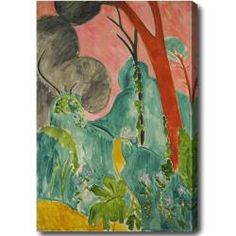 @Overstock - Artist: Henry Matisse  Title: Moroccan Garden  Product type: Gallery-wrapped canvas arthttp://www.overstock.com/Home-Garden/Henry-Matisse-Moroccan-Garden-Hand-painted-Oil-on-Canvas/6699042/product.html?CID=214117 $84.99