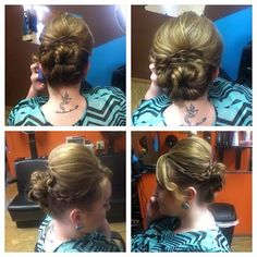 up-do  prom hair