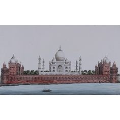 Indian interest - An album with a collection of 18 views of Indian Forts and Tombs in and around Estimate: - Sold for in our Old Masters, British & European Paintings on March 2019 European Paintings, Japanese Painting, Environmental Art, Forts, Old Master, Wallis, Black Marble, Tribal Art, Asian Art