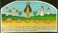 Virgen de Zapopan Retablo