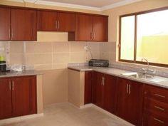 Modelos de cocinas empotradas en concreto y ceramica Planos de gabinetes de cocina gratis