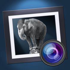 《Dramatic Black & White》提供了非常多樣化的黑白相片濾鏡,讓你可以隨意套用在任何一張照片上,接著你還可以調整色調、銳利度、對比度等數值來強化你想凸顯的風格。