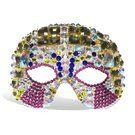 Crystal studded mask