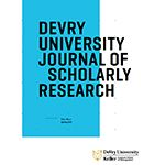 DeVry University Publishes Journal of Scholarly Research