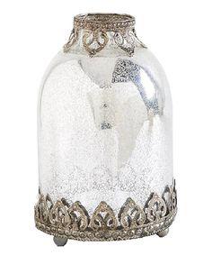 Another great find on #zulily! Vintage Mercury Glass Decorative Jar #zulilyfinds