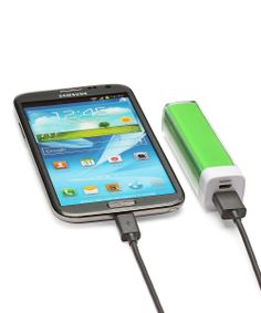 Green Power-Up Portable Backup Battery Stick
