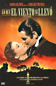 LO QUE EL VIENTO SE LLEVO. . con Scarlett O'Hara, un clásico del cine