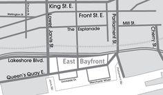 Toronto Neighbourhood Guide - East Bayfront - Neighbourhoods