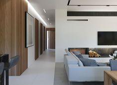 Projekt domu HomeKoncept-45 G2 118,49 m² - koszt budowy - EXTRADOM Gable House, Home Fashion, House Plans, Pergola, Sweet Home, House Styles, Table, Furniture, Home Decor