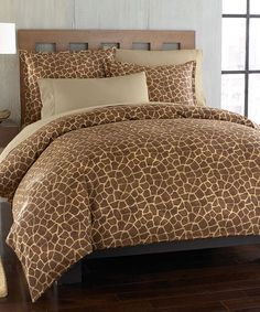 Giraffe Animal Duvet Set  Type 3 teen tween bedroom