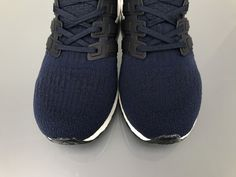 "ec9f4ad41 Adidas Ultra Boost 3.0 ""Deep blue"" Real Boost BA8843 Men Women Ladies Girls  Real"