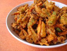 Vegetable Pakora Recipe-Mixed Vegetable Pakora-Pakora Recipe