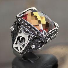Серебро 925 пробы мужское кольцо с удивительной цвет меняется шамот уникальный товар | Украшения и часы, Украшения для мужчин, Кольца | eBay!