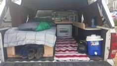 DIY Truck Bed Micro Camper