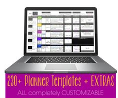 SO many choices! Editable in EVERY WAY. NO yearly fee. Access from anywhere... or just use your favorite pens and pencils! SO many options!! The ULTIMATE WEEKLY PLANNER! #teacher planner #weekly planner #teacher plan book #The Ultimate Weekly Planner