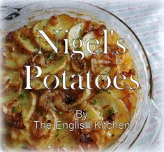 I dug this recipe out of an old Nigel Slater book the other day. The book was called Real Food. They aren't so much recipes as they are. Veggie Side Dishes, Potato Dishes, Vegetable Dishes, Potato Recipes, Veggie Recipes, Real Food Recipes, Vegetarian Recipes, Cooking Recipes, Savoury Recipes