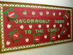 The Corner on Character, for engaging and authentic character-development, integration and infusion ideas and activities. Class Bulletin Boards, Bullentin Boards, Preschool Bulletin Boards, Apple Activities, Learning Activities, Teaching Ideas, Character Education, Character Development, Interactive Board
