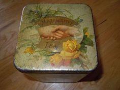 Mazawatattee Tea tin c 1900s