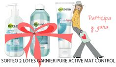 Gana un lote de Garnier Pure Active Mat Control