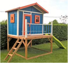 wood pallet kids playhouse