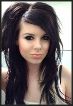 Sensational 1000 Images About Hair On Pinterest Emo Hairstyles Rockabilly Short Hairstyles Gunalazisus