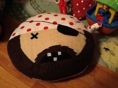 Pirate cushion - Perfect for playtime