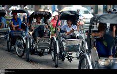 Cyclo in Sài Gòn