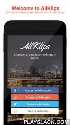 AllKlips: Your Kpop Companion  Android App - playslack.com , WELCOME TO ALLKLIPS, THE GLOBAL SOCIAL COMMUNITY FOR KOREAN CULTURE AND BEYOND!Download AllKlips and get started today -It's free!It's easy to find Korean girl group, boy band, actor, film, drama, and variety show. Meet the people who love your favorite stars from all over the world. Is there any Korean star you love? Let's find out what they're up to now by following topics. And show your love on their boards by writing a comment…